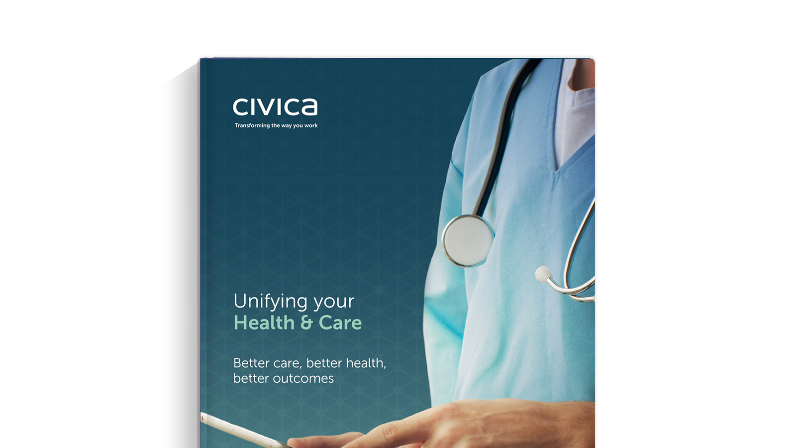 Health and Care Sector Overview brochure