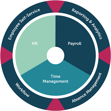 HR & Payroll infographic